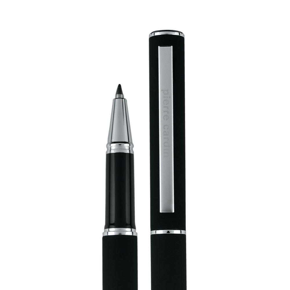 con funzione Touch-Pen Penna a sfera a gel CLAUDIE PIERRE CARDIN nero colore inchiostro: blu La penna viene consegnata in una confezione regalo con certificato di autenticit/à