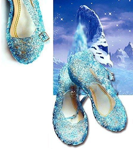 reputable site bd391 8eca5 Scarpe Di Frozen Elsa - Tutte Le Taglie (31 = Piede 18.5Cm ...