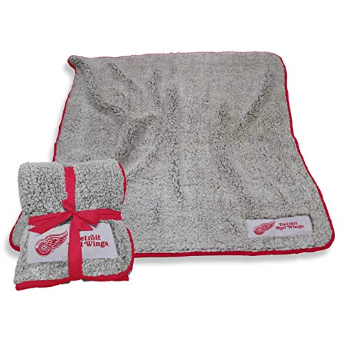 Detroit Red Wings Blanket - Logo Detroit Red Wings NHL Frosty Fleece 60 X 50 Blanket - Team Color,