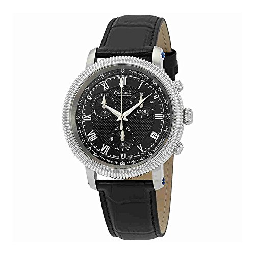 Charmex President II Chronograph Black Dial Mens Watch 2991