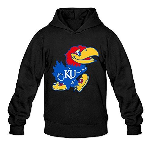 Oryxs Men's Kansas Sweatshirt Hoodie XXL Black ()