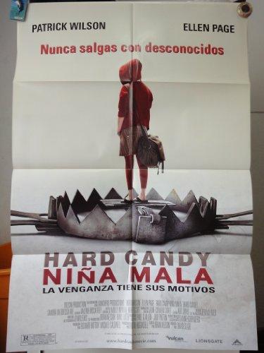 (Original Movie Poster Hard Candy Niña Mala Patrick Wilson Ellen Page)