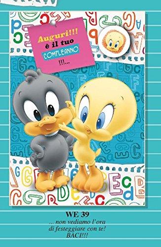 Tarjeta Felicitación cumpleaños con Imán Piolín Duffy Duck ...