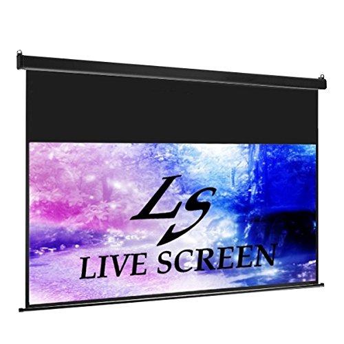 LIVE SCREEN 16:9 100インチ ロングタイプ 電動格納 プロジェクタースクリーン B00U52SPNC