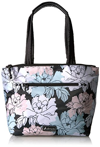 sakroots-kota-medium-city-tote-black-peony