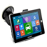GPS Navigator for Car Xgody Truck GPS Navigation System 7 Inch Capacitive Touch