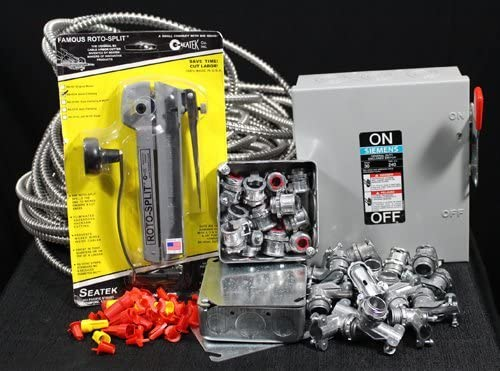 Amazon.com: Electrical Wiring Kit for Paint Spray Booth- 3 PHASE: Home  ImprovementAmazon.com