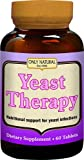 Only Natural Yeast Therapy -- 60 Tablets - 3PC