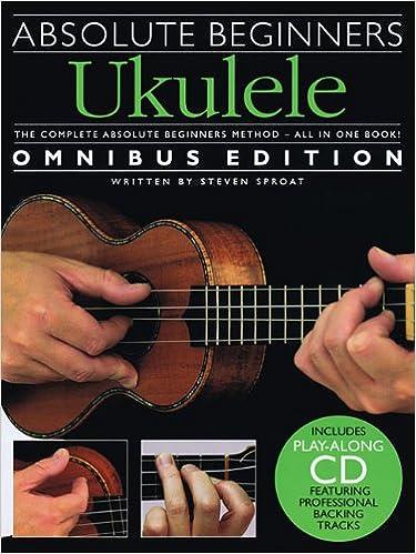 Amazon Absolute Beginners Ukulele Omnibus Edition Bkcd