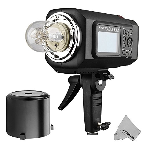 Fomito Godox AD600BM Outdoor Flash Strobe Light Bowens Mount 600Ws GN87 HSS with 2.4G Wireless X System by Fomito