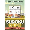 Sudoku 200: Medium Puzzles for Advanced Beginners and Intermediates (Volume 4)