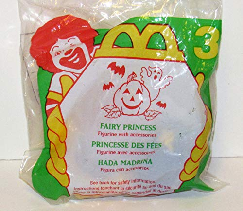 Qiyun McDonalds Halloween McNugget Buddies Fairy Princess 1996 Cake Topper 3