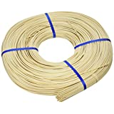 Commonwealth Basket Round Reed #4 2-3/4mm 1-Pound Coil, Approximately 500-Feet
