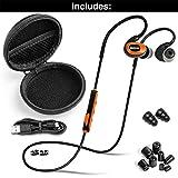 ISOtunes PRO Bluetooth Earplug Headphones, 27 dB