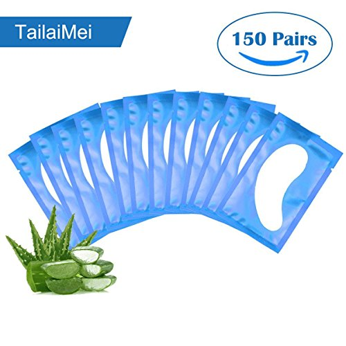 TailaiMei 150 Pairs Under Eye Gel Pad Lint Free Patches for