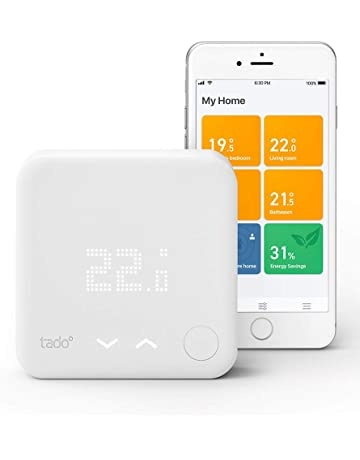 tado° Smart Thermostat Starter Kit V3+ - Intelligent heating control, works with Amazon Alexa, Apple HomeKit, Google Assistant, IFTTT