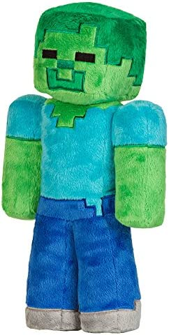 JINX Minecraft Zombie Stuffed Unboxed product image