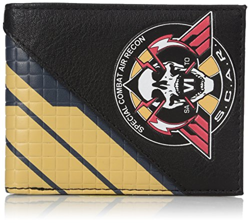 Bioworld Men's Call of Duty Infinite Warfare Bi-fold Wallet, black, One Size