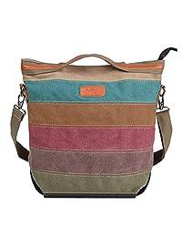 NOTAG Crossbody Bag for Women Large Capacity Shoulder Bag with Adjustable Shoulder Strap Casual Messenger Bag Waterproof Sling Crossbody Bag Top Handle Handbag for Girls