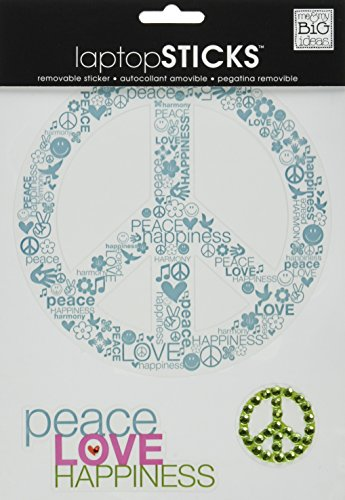 ideas Removable Laptop Sticker Peace