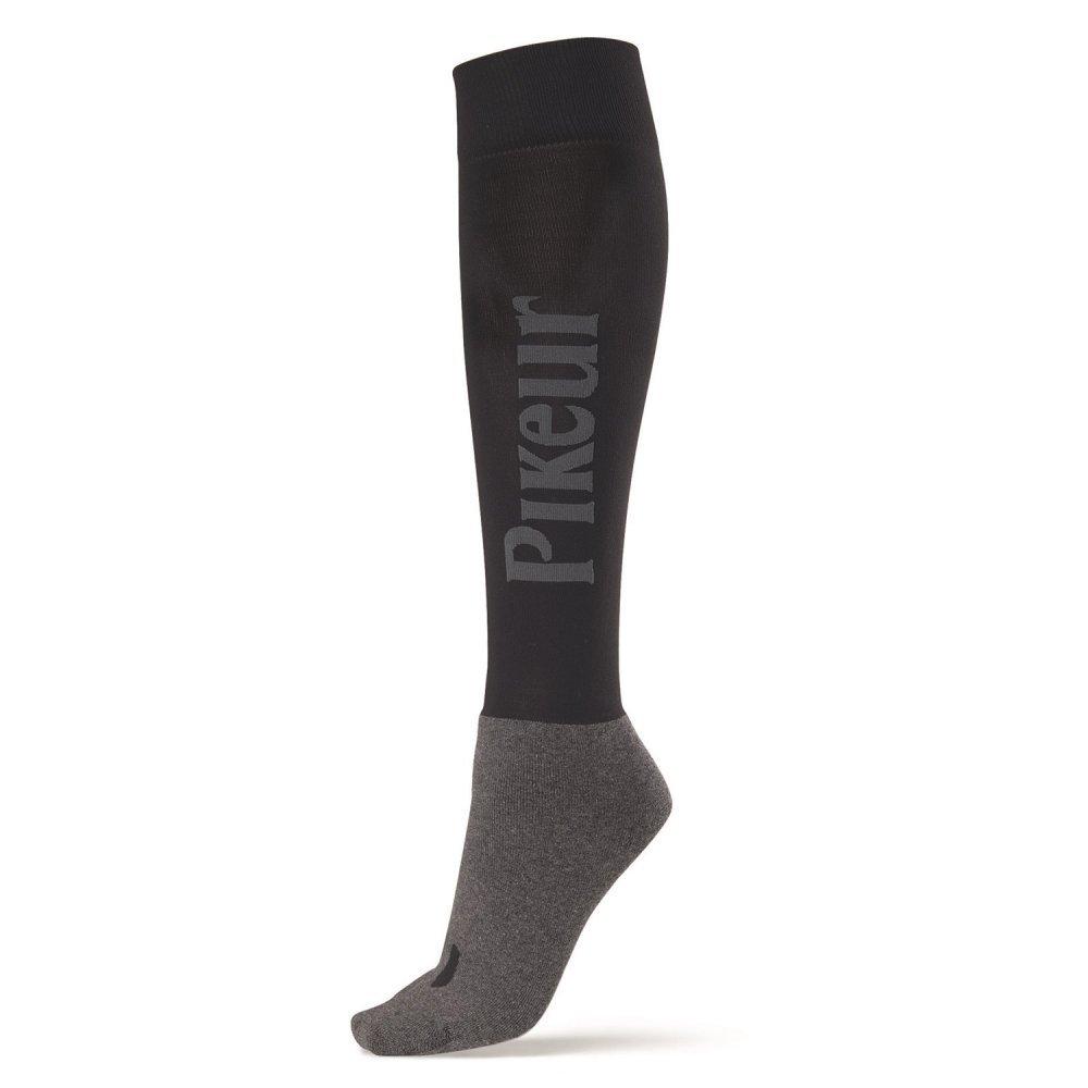 PIKEUR Reiter Socken mit PIKEUR Schriftzug