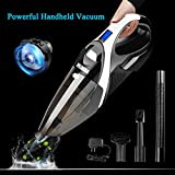Why WELIKERA handheld vacuum? -Lightweight yet powerful, easy to charge and easy to clean -Lithium technology allows for strong suction and longer operating time -Stainless steel filter, 20 times that of normal ones -LED Light: a great helper for dar...