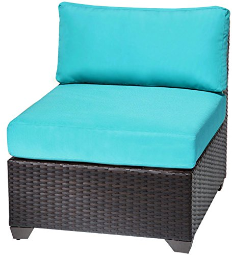 TKC Barbados Armless Sofa, Set of 2, Aruba
