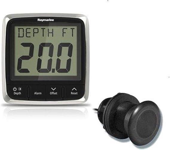 46050 Raymarine i40 Depth Display System w//Thru-Hull Transducer