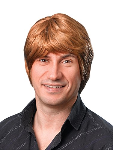 Bristol Novelty BW305 Male Wig Short, Brown, One (Ron Weasley Costume Uk)