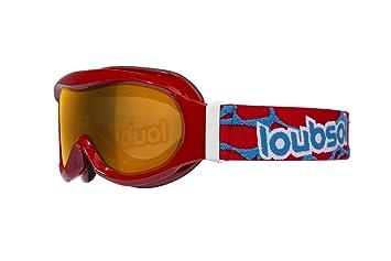 650529c8237b5b Loubsol Masques Enfant Etoile Rouge photochromique Ski Mixte, Taille  4-8  Ans