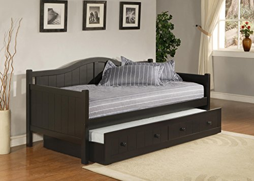Hillsdale Staci Daybed Trundle in Black (Hillsdale Dining Room Bed)