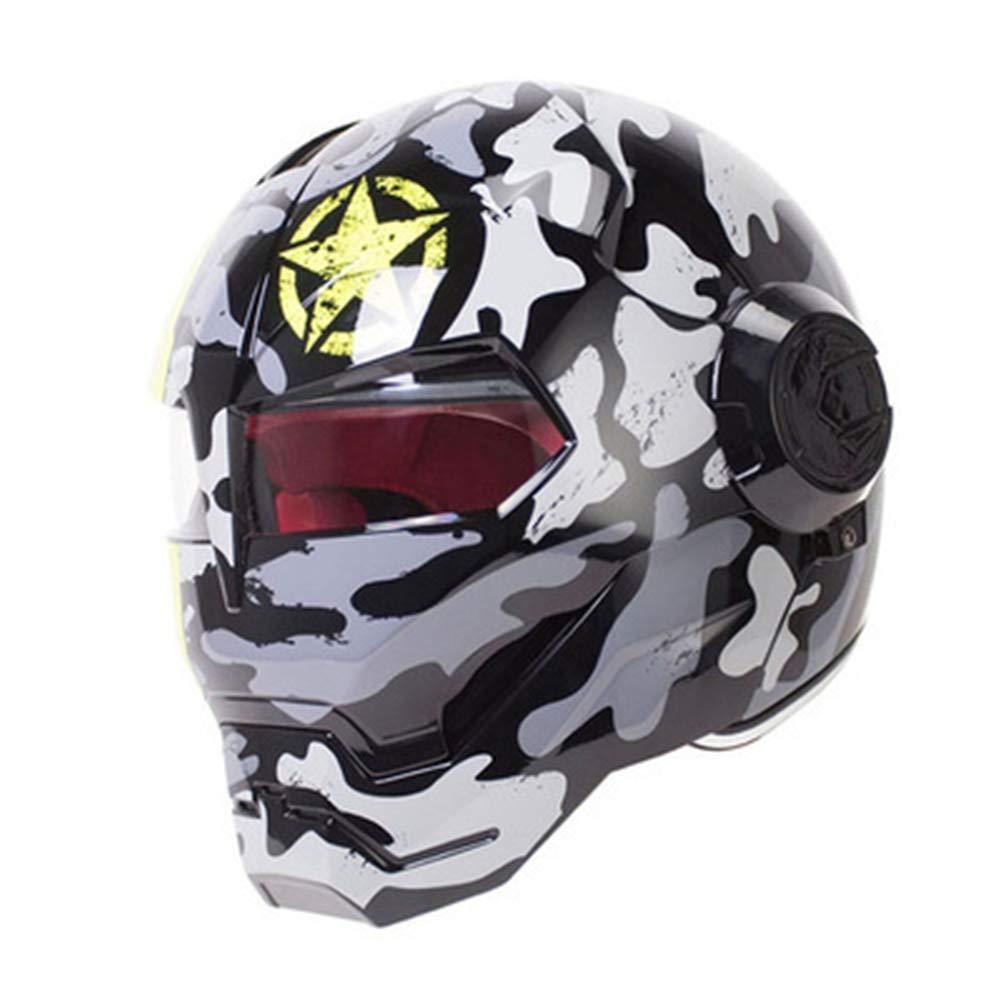 暮らし健康ネット館 オートバイヘルメット オフロードオートバイレーシングヘルメット フルフェイスダンピング Large|カラー8 耐久性 モータースポーツヘルメット 多色選択 多色選択 快適 快適 B07QYT7MLP Large|カラー8 カラー8 Large, パルガントン 公式:c74c99fe --- a0267596.xsph.ru