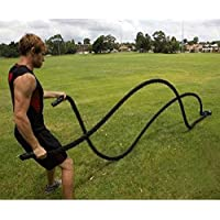 Battle Rope Trainingsseil,Sportseil Schwungseil für Fitness Kraft Training