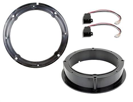 inex Escarabajo Altavoz de Puerta Trasera Adaptador anillos separadores Kit ix-sa-vw-