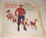 The Original Gene Autry Sings Rudolph the Red-nosed Reindeer & Other Christmas Favorites Record Album LP Vinyl