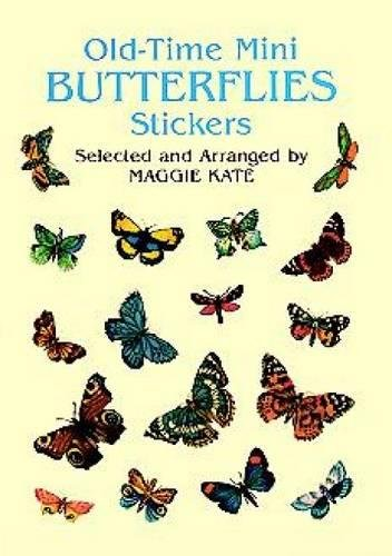 Old-Time Mini Butterflies Stickers (Dover Stickers)]()