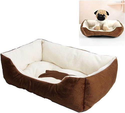 Faviye Pet Nest Cama para Perros Cama para Gatos 3D PP Algodón ...
