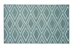 Jean Pierre Sean Textured Decorative Accent Rug, 28 x 48\