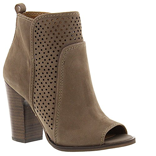 Lucky Brand Women's Lakmeh Open-Toe Bootie,Brindle Leather,US 7.5 M by Lucky Brand