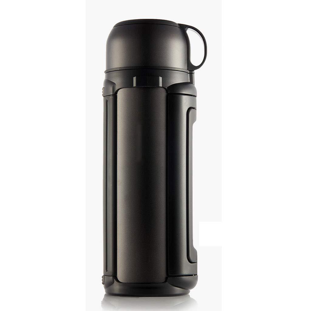 XUEZM Thermos Mug,Edelstahl Outdoor Große Kapazität Auto Isolierung Topf Edelstahl Haushalt Isolierung Tasse Thermoskanne Wasserkocher (größe   1.5L)