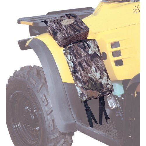 Kwik Tek ATVFB-B, ATV Fender Pack (Black) Atv Storage Bags