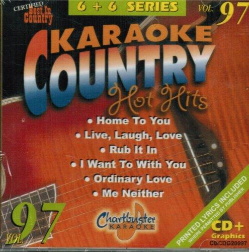 Chartbuster Karaoke Country Hot Hits Vol 97 by