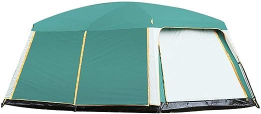 Tienda de campaña al Aire Libre de Dos dormitorios con Habitaciones de 6-8 Personas Carpa Viento y la Lluvia Utilizado for el jardín Camping al Aire Libre Senderismo Senderismo ZHNGHENG: Amazon.es: Hogar