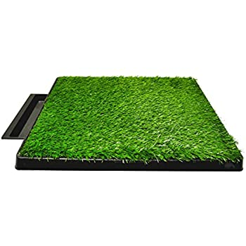 artificial turf. Dog Pee Potty Pad, Bathroom Tinkle Artificial Grass Turf, Portable Trainer (20 Turf