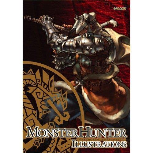 Image of Monster Hunter Illustrations Art Book Set