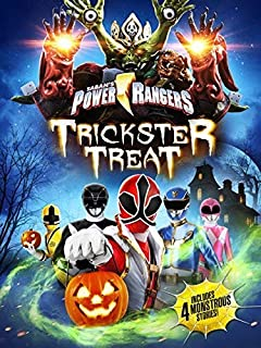 power rangers trickster treat dvd digital