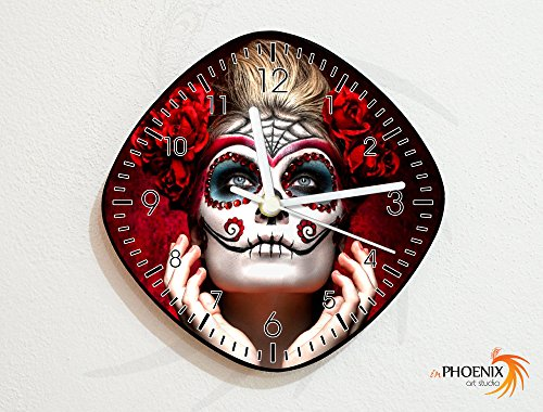 (Catrina Calavera - Sugarskulls - Dia de los Muertos - Day of the Dead - Wall)