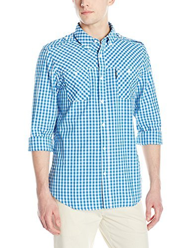 Mens Windston Long Sleeve Woven Shirt Ecko Unltd