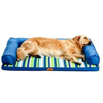 Cama perro Cama Impermeable para Perros para Perros/Gatos / Mascotas, Indestructible Puppy Kennel Beds para Perros pequeños/medianos, Tela Oxford, ...