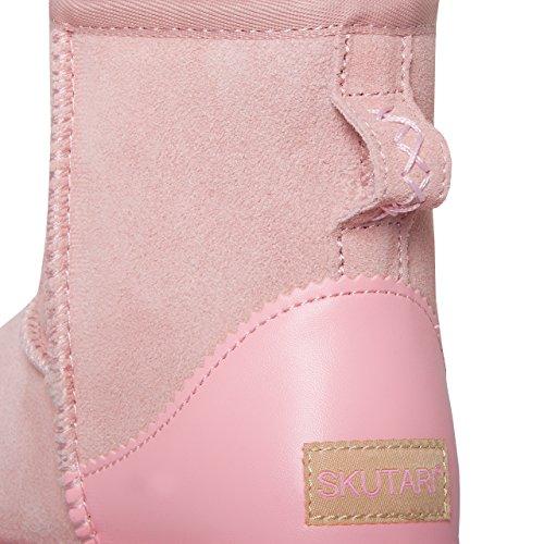 Skutari Souples Femme Rose Q7cppp Bonbon Boot Bottes q4Raw7F